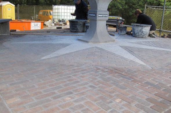 Orienteertafel Kuiperberg restauratie