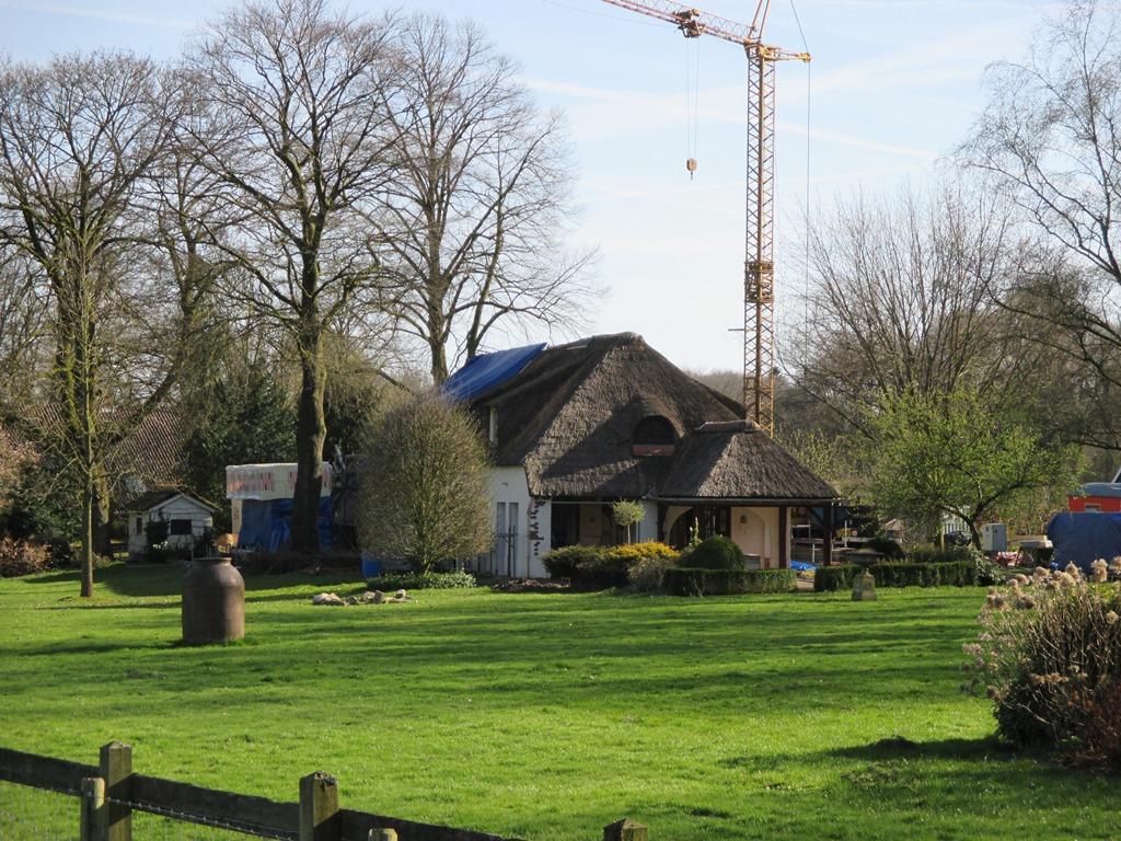 Woning te Oldenzaal tijdens verbouw / renovatie